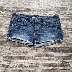 American Eagle denim shorts, size 12